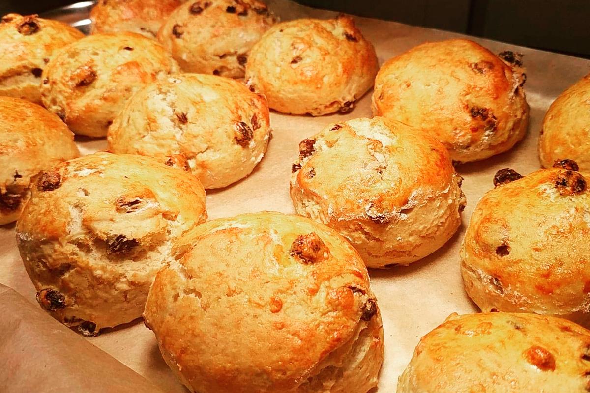 Homemade scones