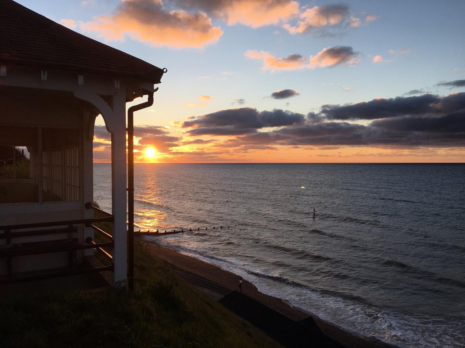 Sunset in North Norfolk