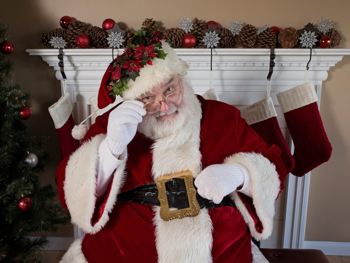 Santa's here....